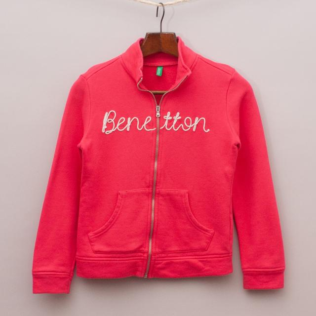 United Colours of Benetton Pink Jumper
