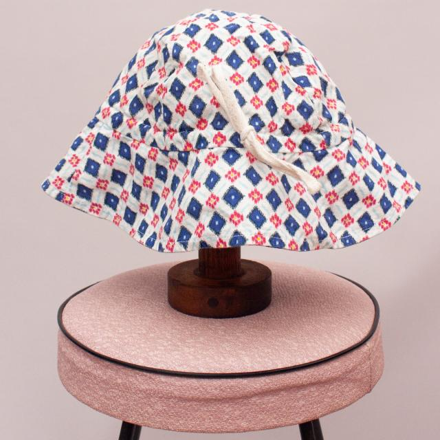 Country Road Patterned Hat - OS