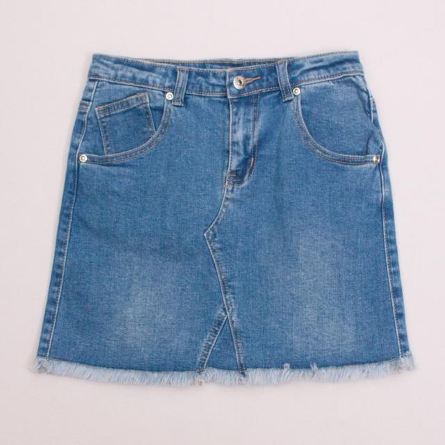 "Seed Denim Skirt ""Brand New"""