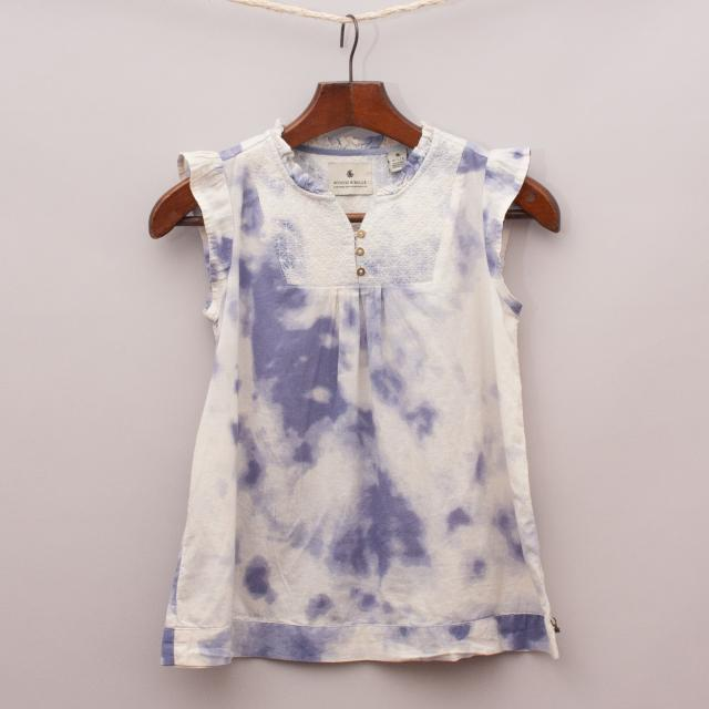 Scotch R'Belle Tie-Dye Top