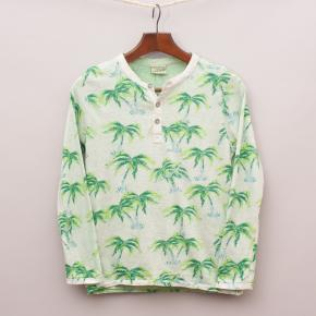 Scotch Shrunk Palm Tree Long Sleeve