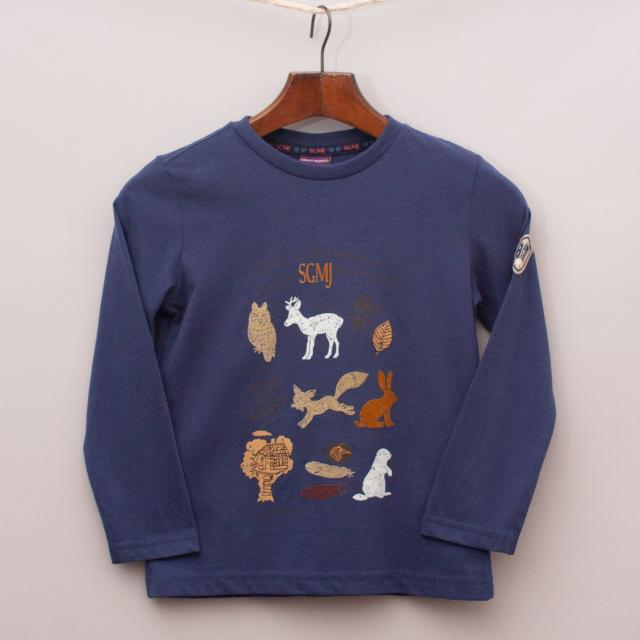 Sergent Major Animal Long Sleeve