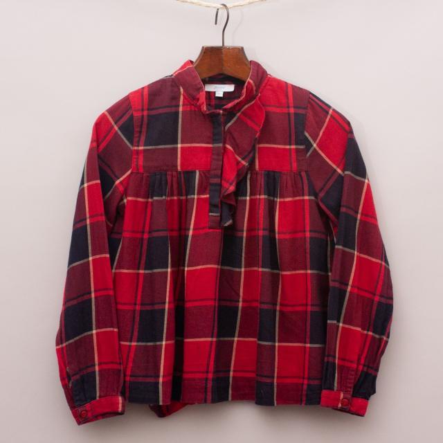 Jacadi Plaid Shirt