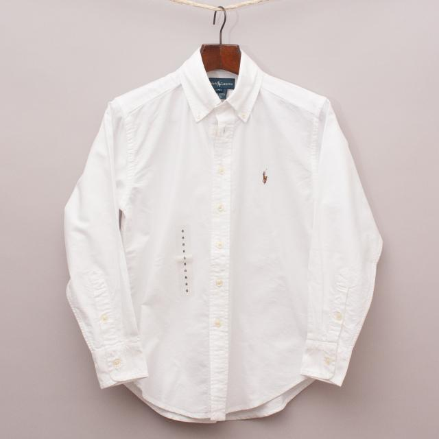 "Ralph Lauren Cotton Shirt ""Brand New"""