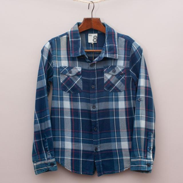"Cotton On Plaid Shirt ""Brand New"""