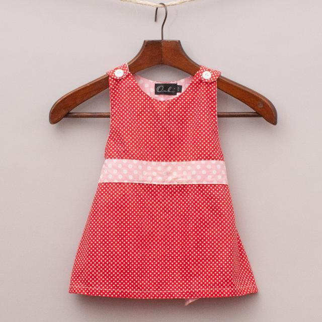 Oobi Polka Dot Dress