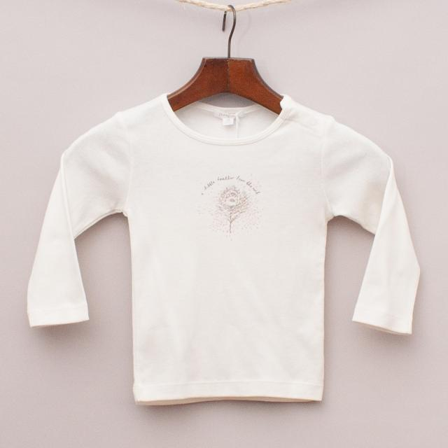 "Purebaby Feather Long Sleeve ""Brand New"""