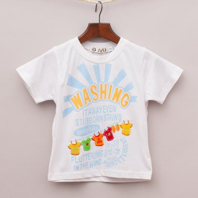 "Bao Bao Shu Washing T-Shirt ""Brand New"""