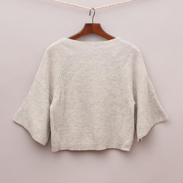 Witchery Cropped Knit Jumper