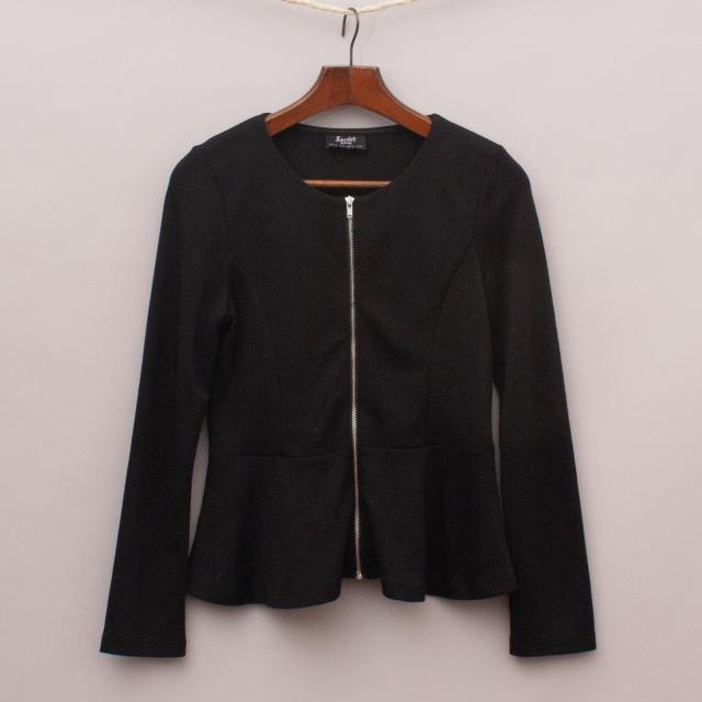 Bardot Peplum Jacket