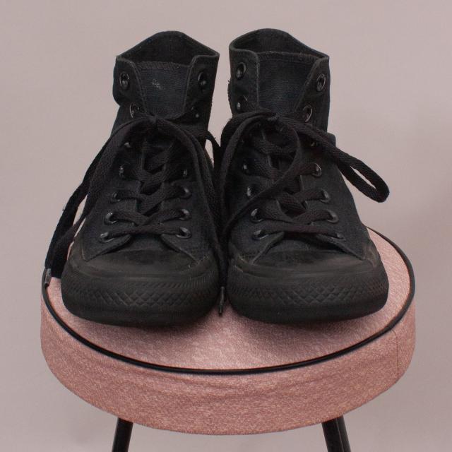 Converse Black Lace Up's EU 38.5 (23cm)