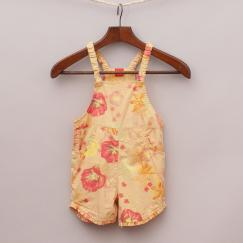 Tex Patterned Overalls