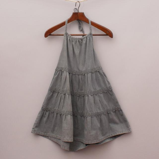 "Little Princess Halter Dress ""Brand New"""