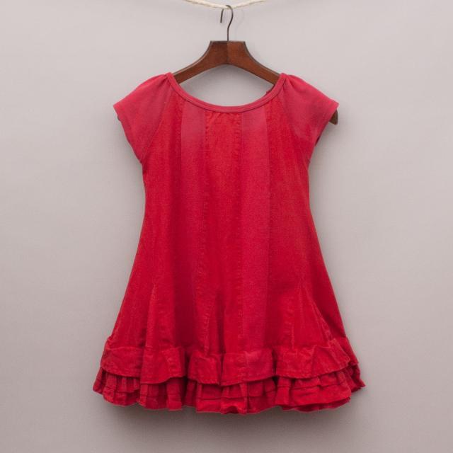 Chalk N Cheese Two-Tone Dress