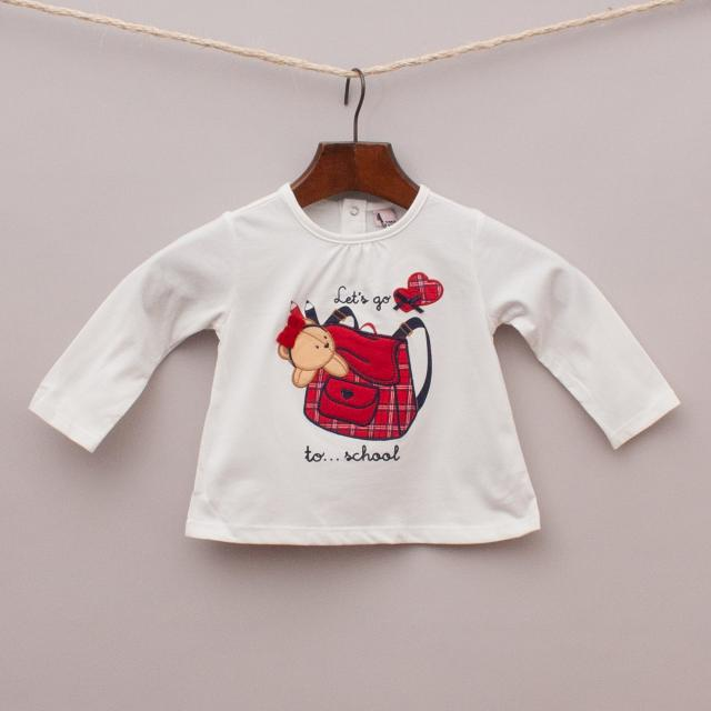 "Free Style Baby Teddy Bear Top ""Brand New"""