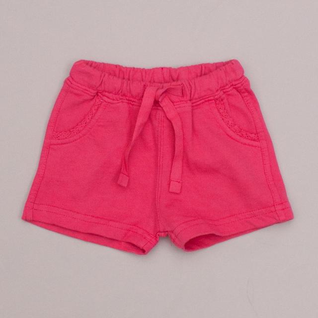 "Week-End a la Mer Pink Shorts ""Brand New"""