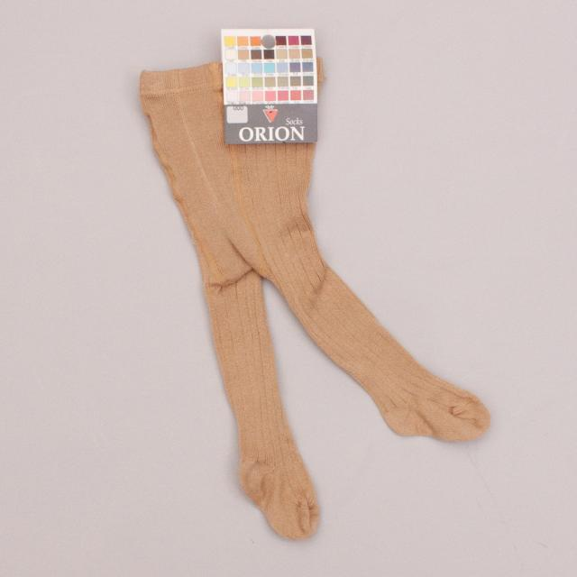 "Orion Brown Stretch Tights ""Brand New"""