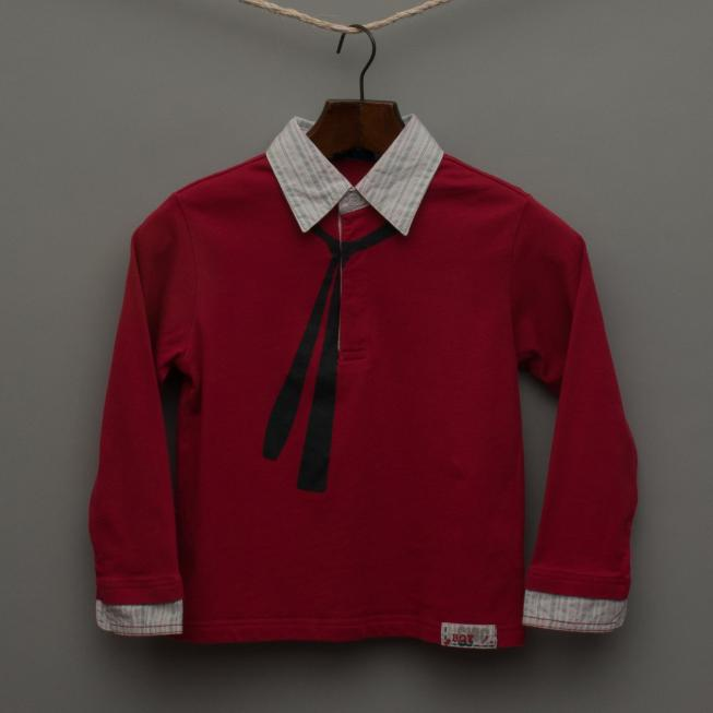 Red Long Sleeve Shirt