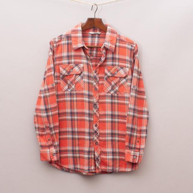 Cape Plaid Shirt
