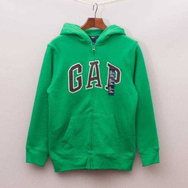 "Gap Green Hooded Jumper ""Brand New"""
