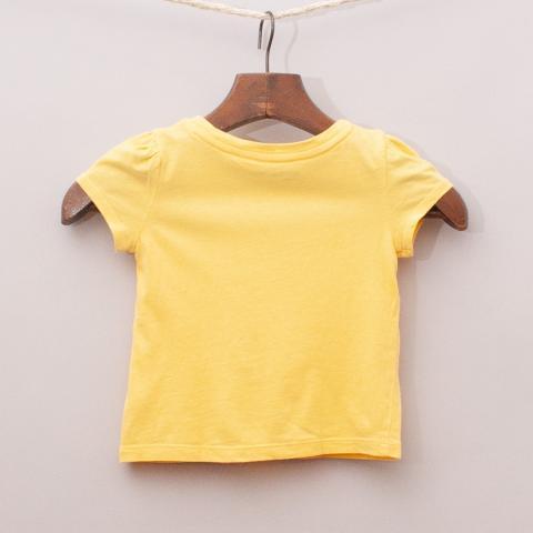 Gap Yellow Bow T-Shirt