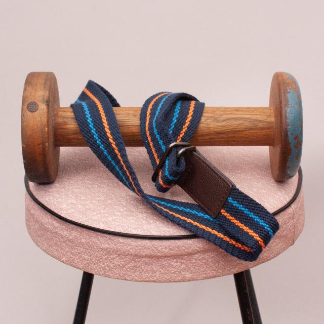 Navy Blue, Blue & Orange Belt - M