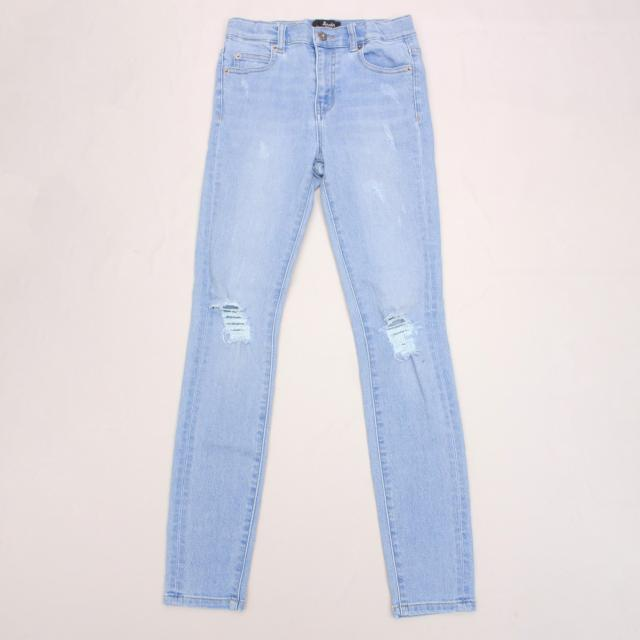Bardot Distressed Blue Jeans