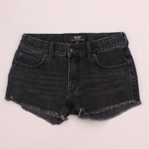 Bardot Distressed Denim Shorts