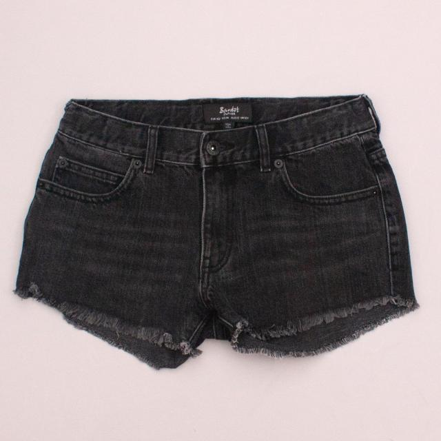 Bardot Distressed Denim Shorts