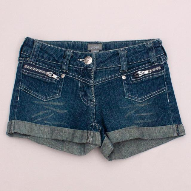 Urban Denim Shorts