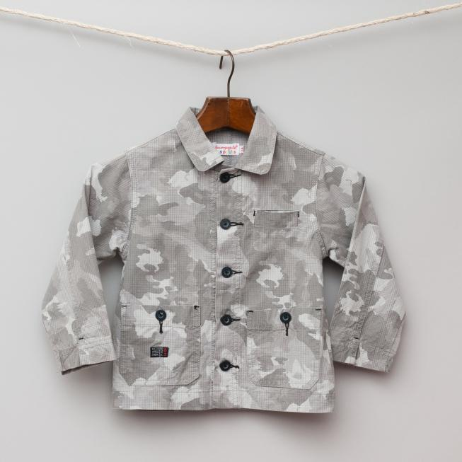 Grey Camoflage Shirt