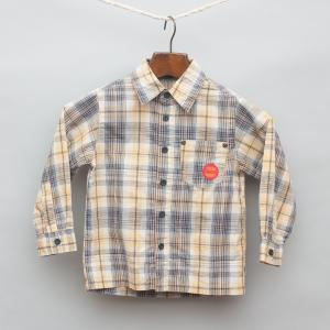 Yellow and Blue Plaid Shirt