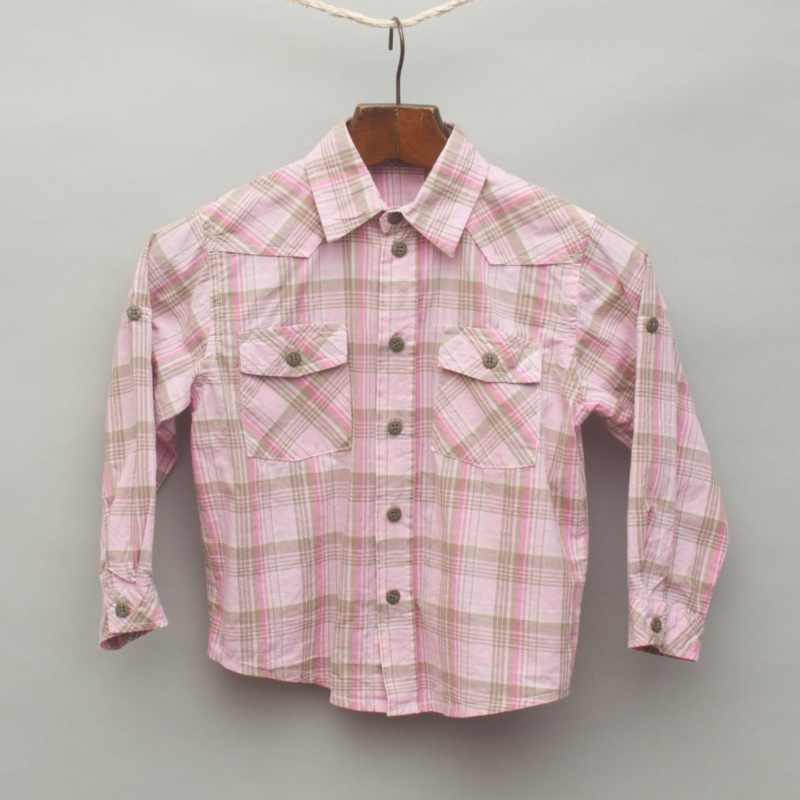 Pink Plaid Shirt