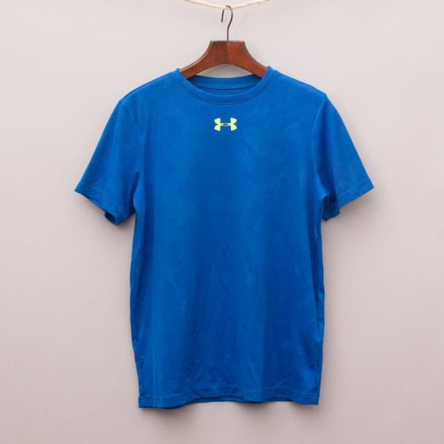 Under Armour Bright Blue T-Shirt