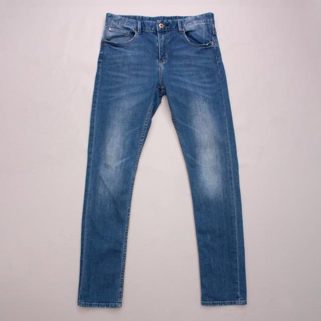 &Denim Distressed Jeans