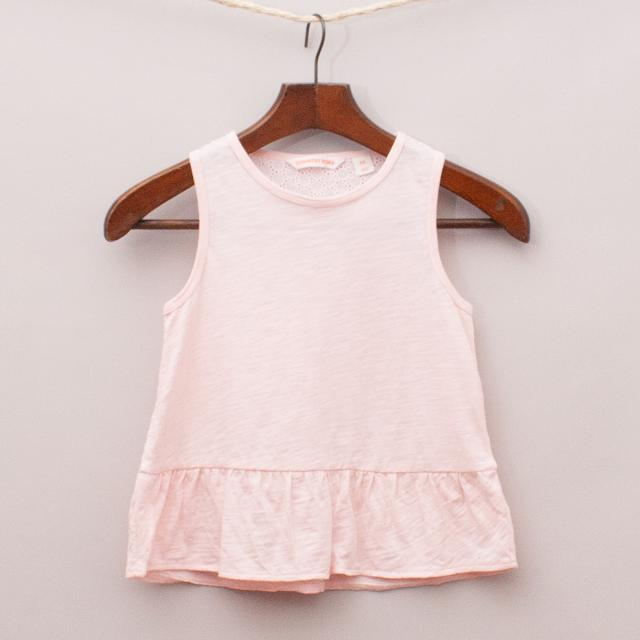 Country Road Pink Singlet
