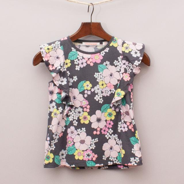 Country Road Flower Power T-Shirt