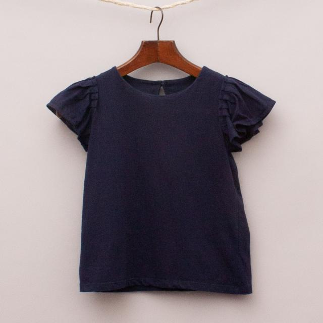 Seed Navy Blue Top