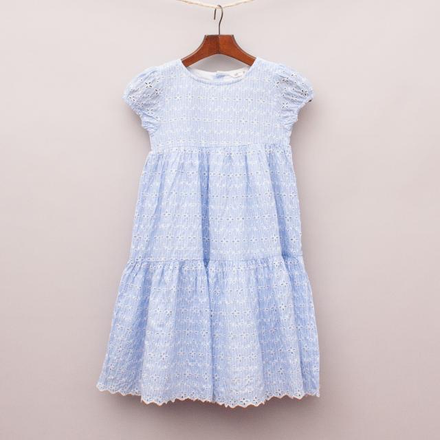 Milkshake Broderie Anglaise Dress