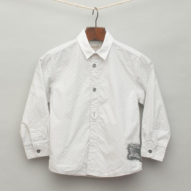 Light Grey Printed Shirt