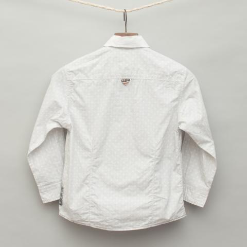 Light Grey Printed Shirt