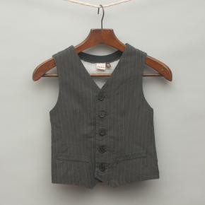 Grey Pin Stripe Vest