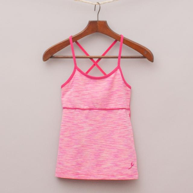 Energetiks Pink Sports Singlet
