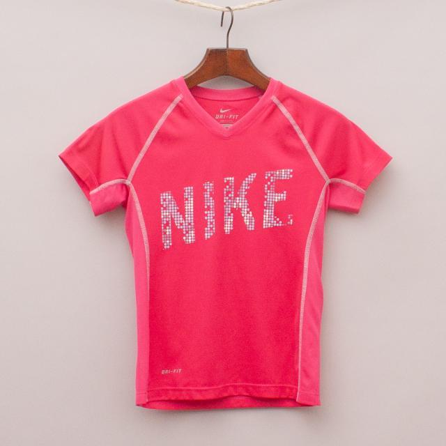 Nike Pink Sports Top