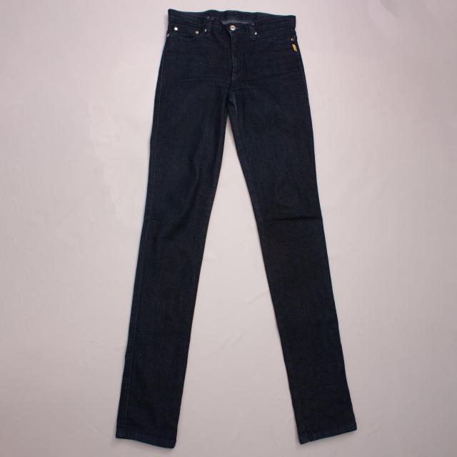 Bettina Liano Dark Blue Jeans