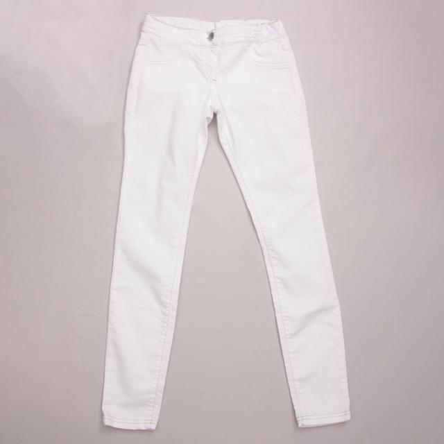 United Colours of Benetton White Jeggings