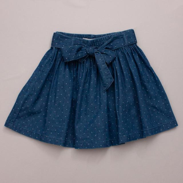 Country Road Polka Dot Skirt