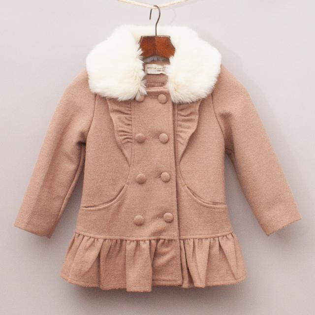 Petit Lievre Brown Coat