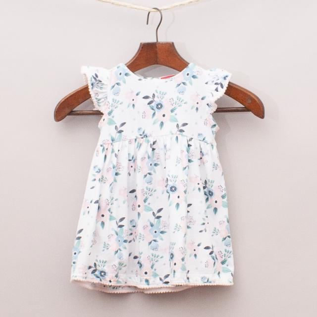 Sprout Floral Dress