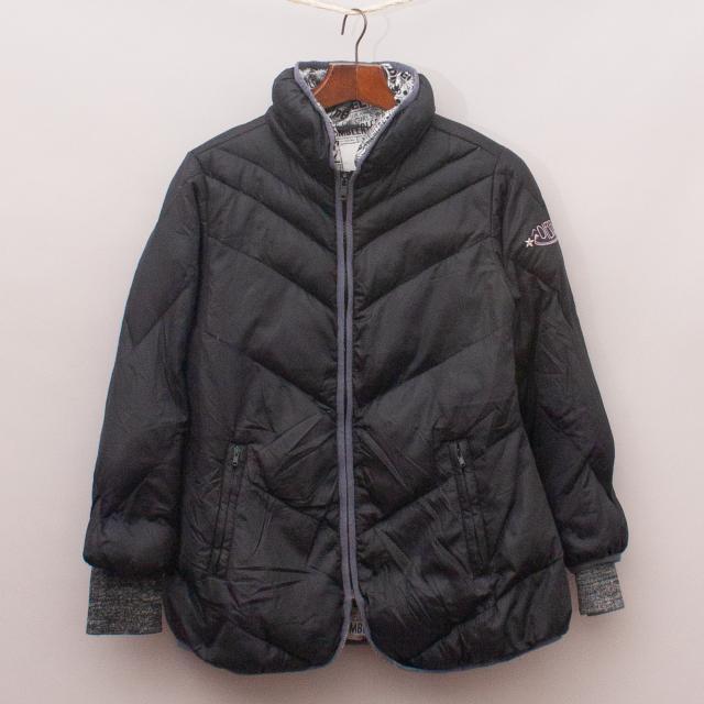 Diesel Black Padded Jacket